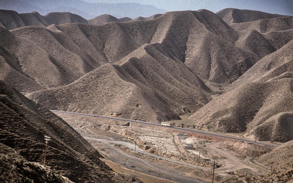 Xinjiang mountain pass