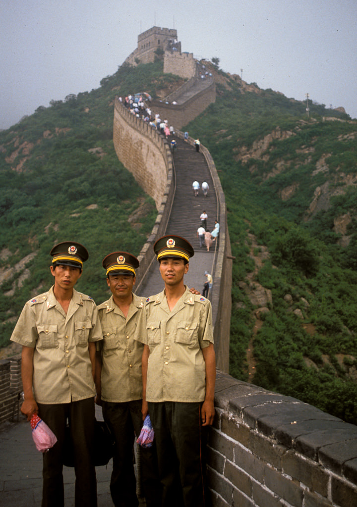 Soldiers on Great Wall