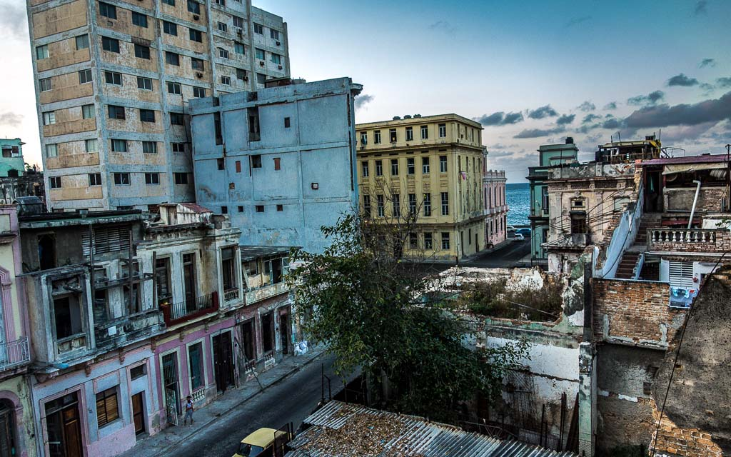 Havana rooftop near Malecon