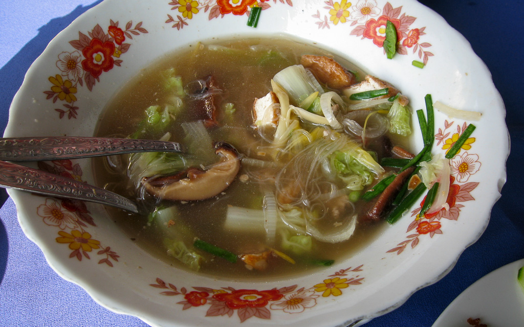 Soup noodles Laotian Food