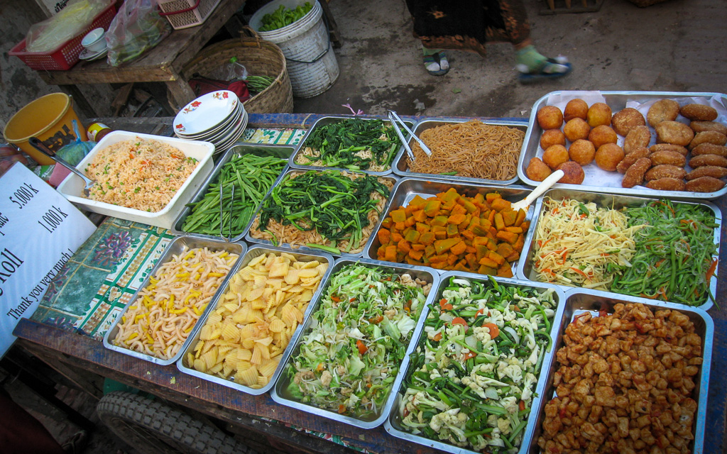 tour of the simple but tasty and healthy cuisine of Laos.
