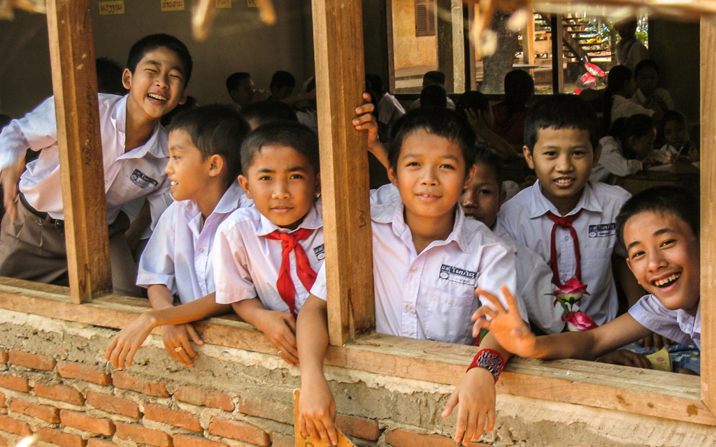 School boys Pakse-Laos