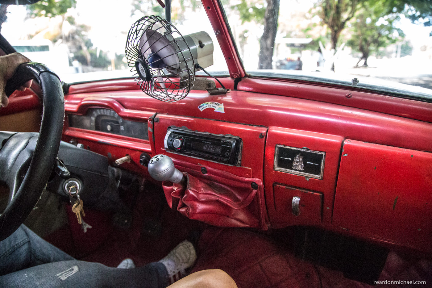 Cuba car dashboards