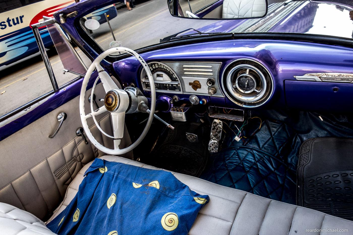 Cuba car dashboards