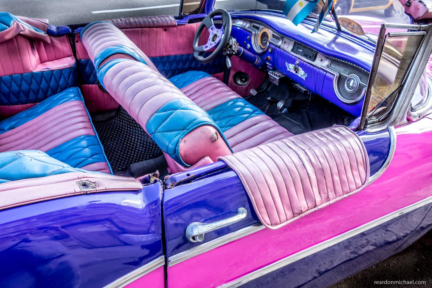 Cuba car dashboard